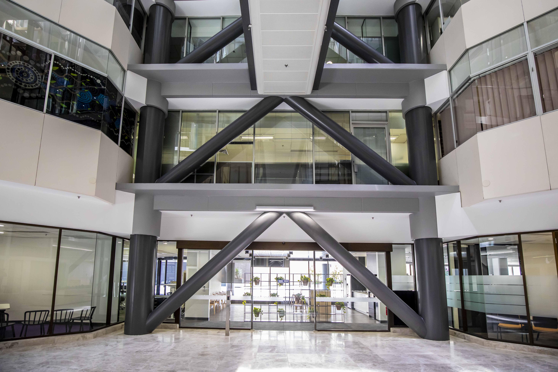 Riverside Building Atrium