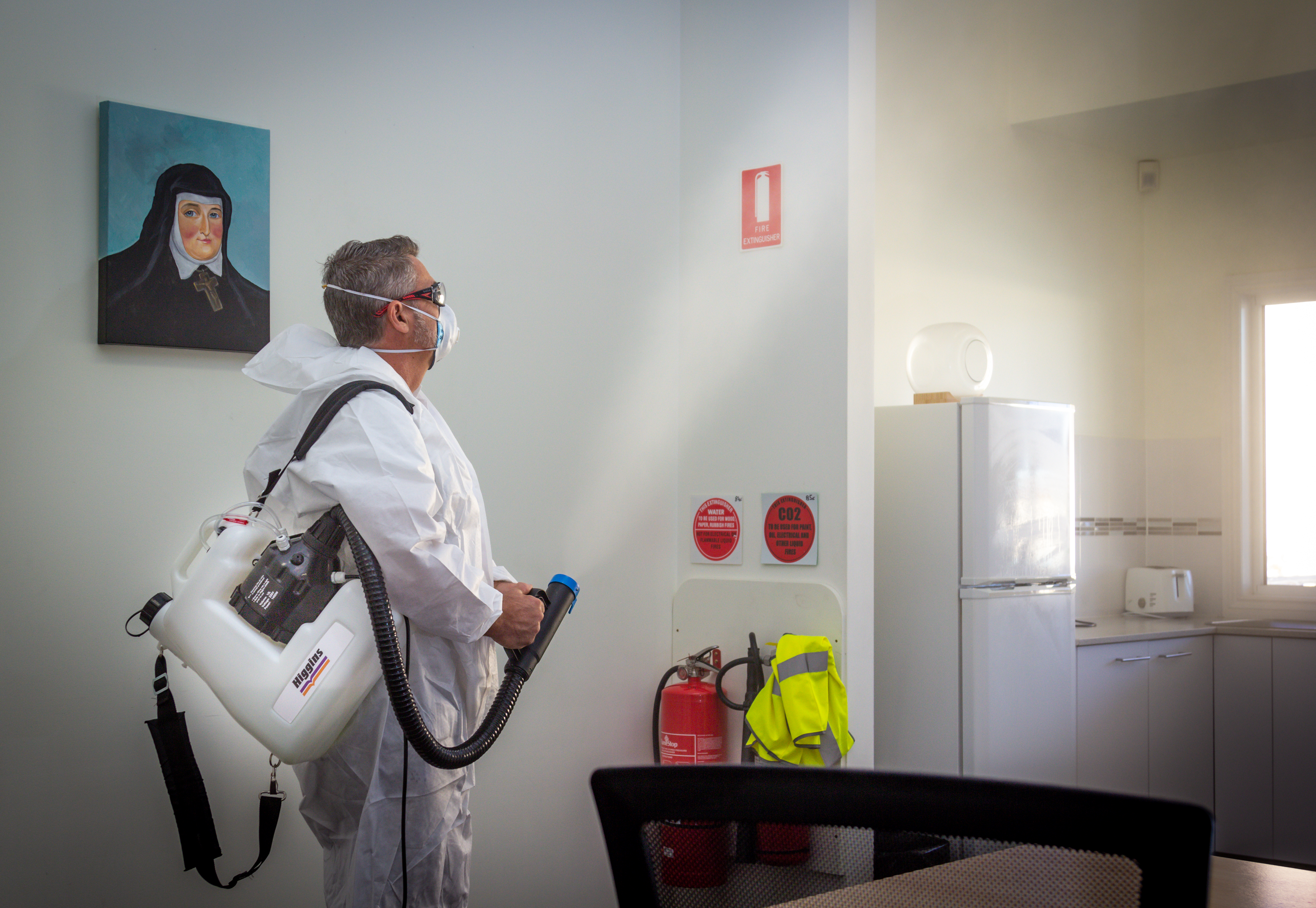 Antimicrobial Sanitising Service - Colley Reserve